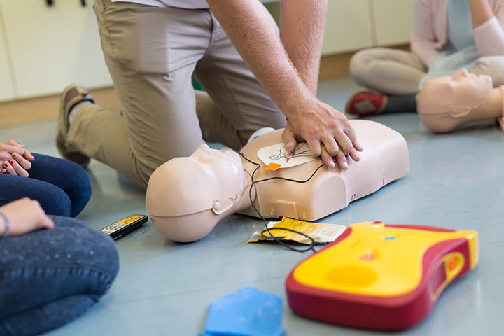 Cpr Training With Aed