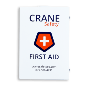 Crane Safety Ansi B First Aid Cabinet Front